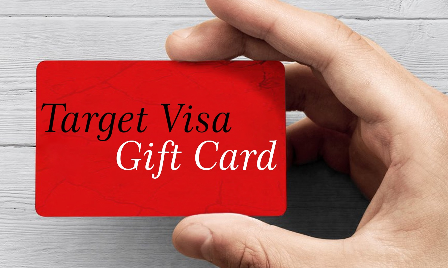A Target Gift Card - The Most Commonly Used Product